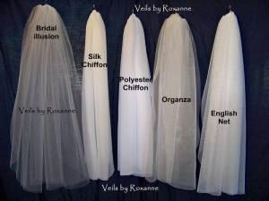 organza veil English net veil chiffon veil