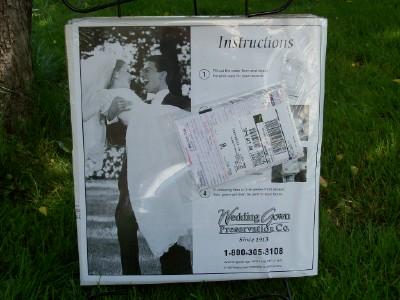 Wedding Gown Preservation Co Kit Wedding Dress Preservation Kit