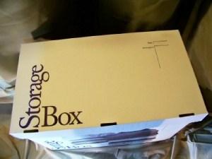 top of storage box