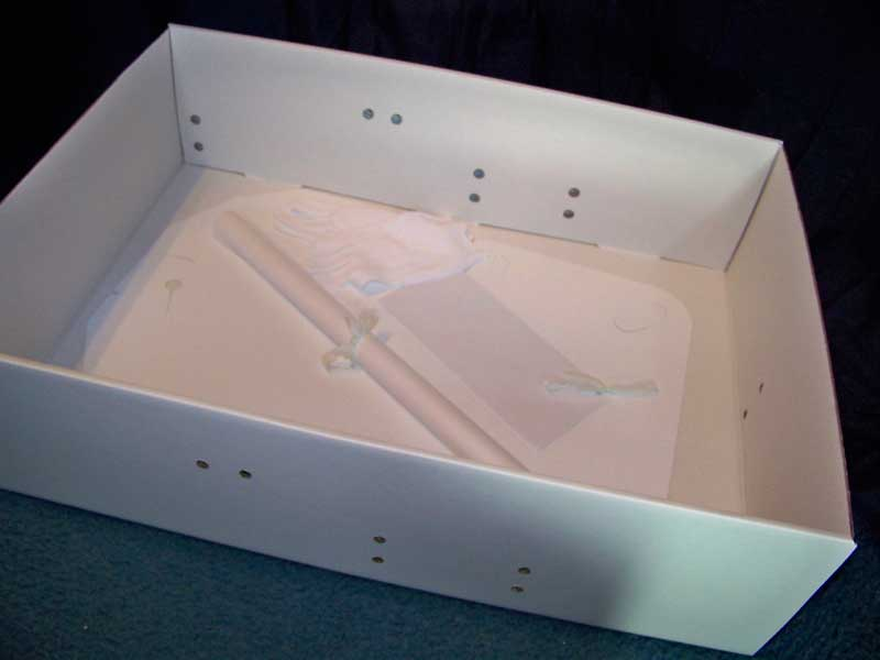 Mid Size Wedding Dress Preservation Kit Bridal Gown Storage Box