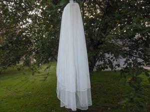 2 tier English net veil