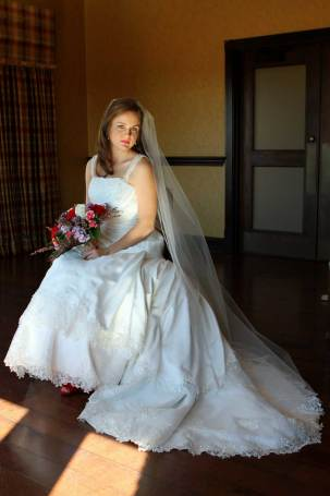 Floor Length Illusion Bridal Veil