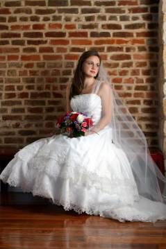Long Traditional Wedding Veil