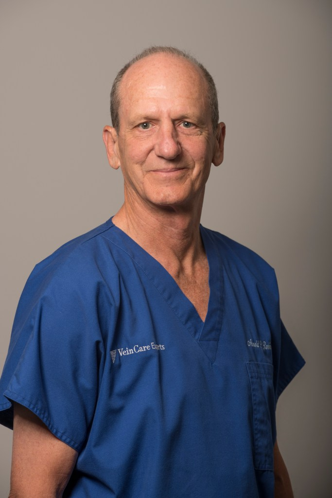 Arnold P. Robin MS FACS, nationally recognized surgeon and varicose vein specialist at Veincare Experts.