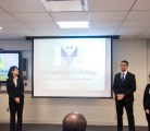 Majestique Clothing from William Cullen Bryant High School giving their Business Plan Presentation!