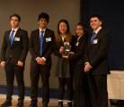 3rd Place winners from Edward R. Murrow High School