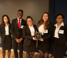 2nd Place winners, T-Squared from Jacqueline Kennedy Onassis High School!