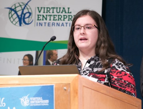 Virtual Enterprises International's 2016 Youth Business Summit.