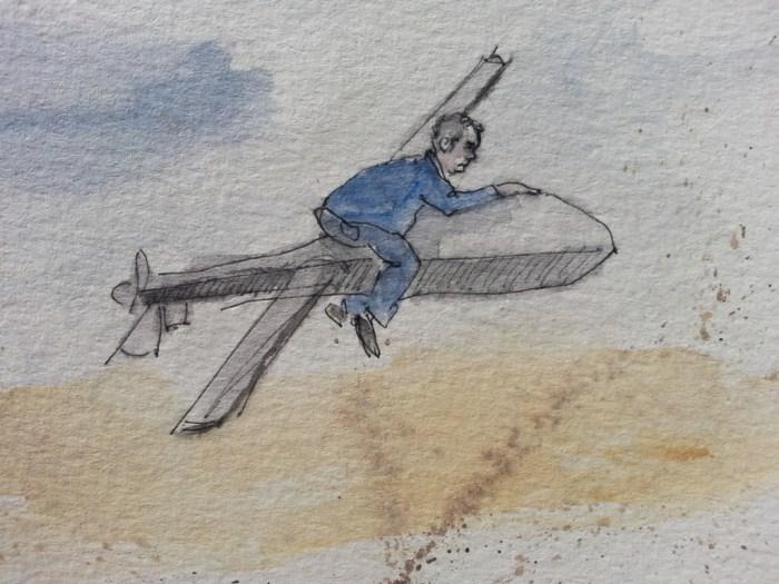 Drohnenreiter