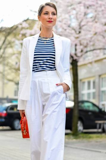 outfit , weisse, white, culottes , look, kombiinieren, mode, blog, blogger, animal print, leo, leopardess, print, muster, pumps, heels ,gestreiftes , streifen , shirt , rote, tasche 1