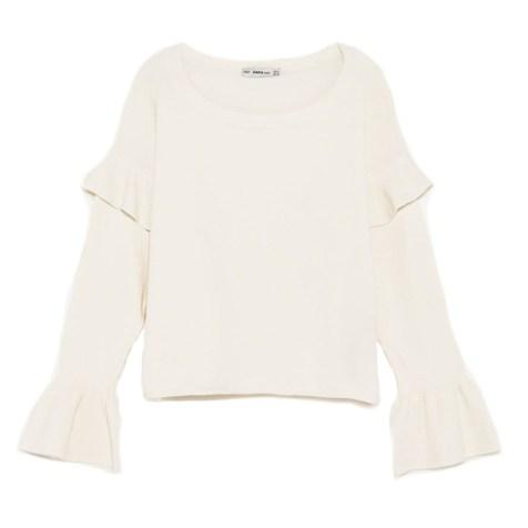 Click :: Pullover mit Volants