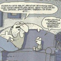 Krem Şanti ve Tobleron - Karikatür