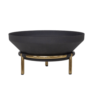 BOWL IRON ON GOLDEN STAND M