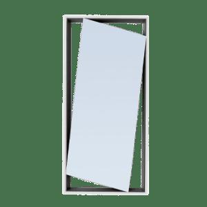Hang up mirror