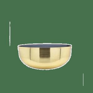 bowl iron 2 tone with enamel M