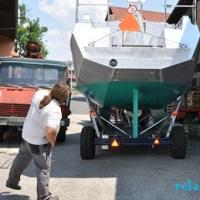 Ein Boot auf Reise