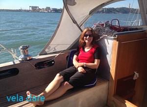 VeladareMeer2-300x219 Petits bonheurs et malheurs d'une navigatrice lifestyle  voyage voilier Voile navigatrice malheur bonheur