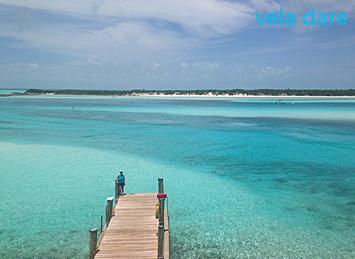 Wawericks wells aux Bahamas, un endroit de rêve que nous avons visité avec notre voilier vela dare