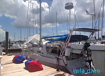 Comment nous préparons notre voilier vela dare à la saison des ouragans