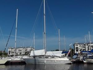 Alltag am Bord unserem Segelboot