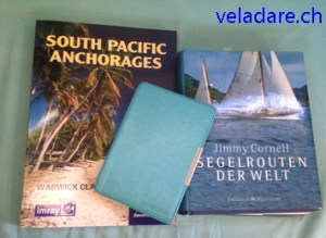 Lesestoff über den Pazifik