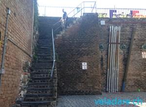 Escaliers historiques de Savannah