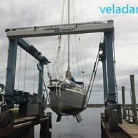 St Mary's Boatyard: Travaux d'entretien du bateau