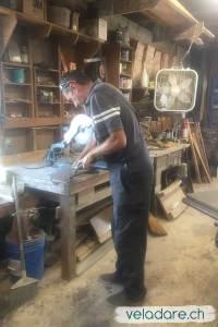 Wartungsarbeiten im Workshop von St Mary Boatsyard