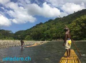 Rafting sur le fleuve Rio Grande en Jamaique