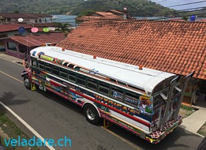 Bus in Panama