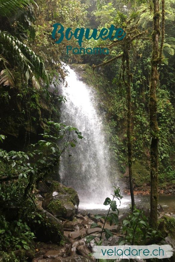 Wasserfall in Boquete
