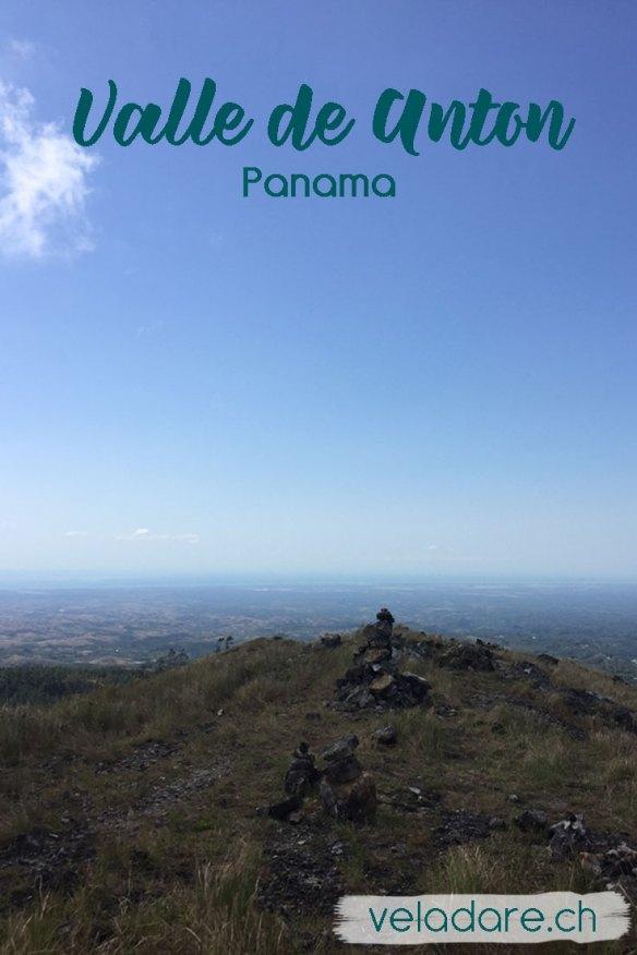 Aussicht von El Valle de Anton, Panama