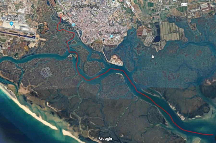 navigation to Faro