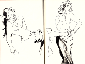 Knox Street Bar life drawing