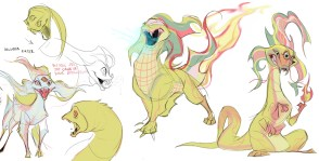 Delusion Eater character design