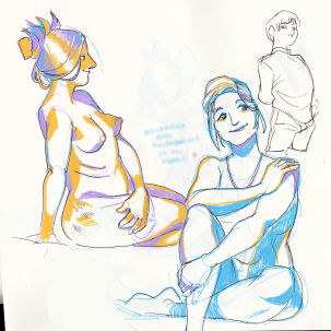 South West Community Center Life drawing