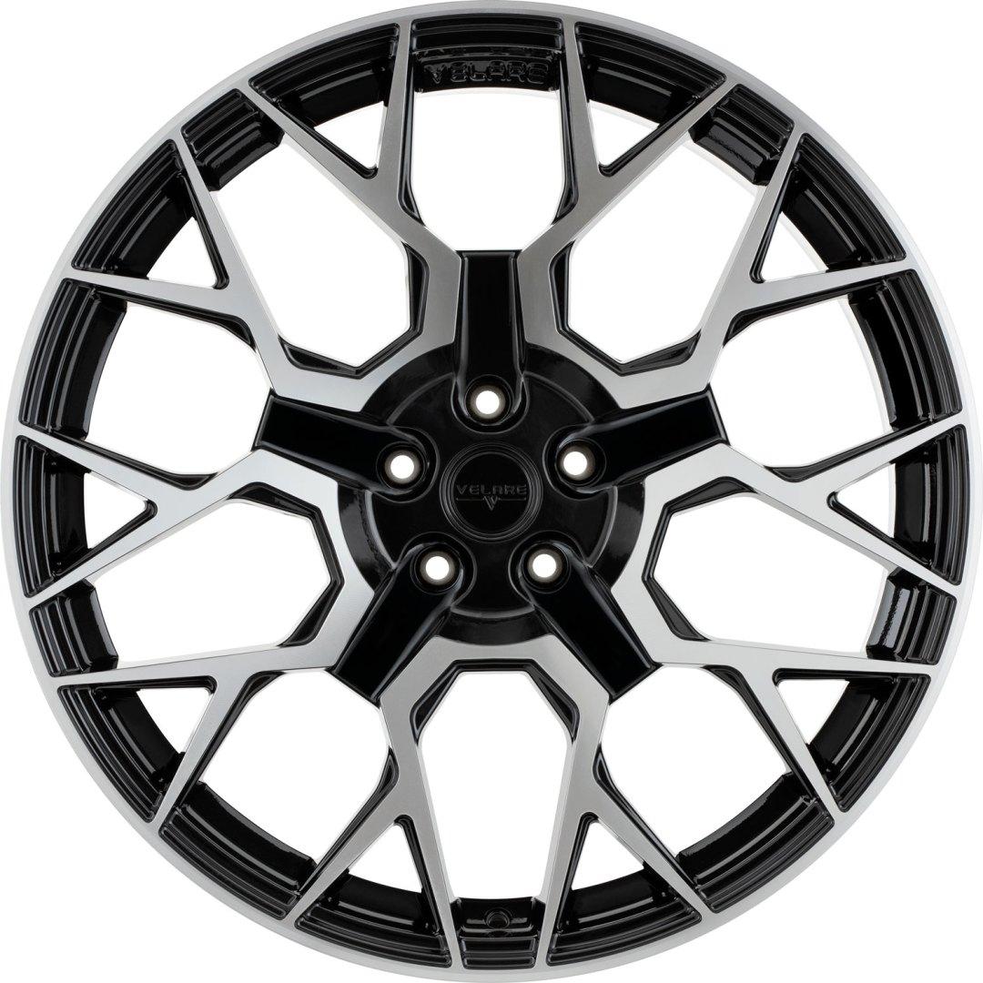 Velare VLR02 Diamond Black Machined Face 1