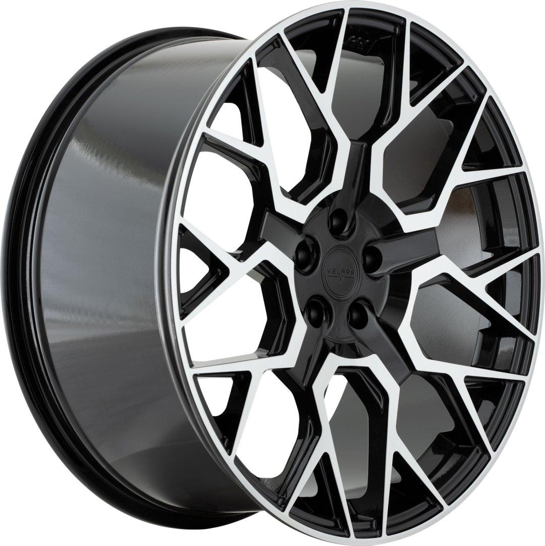 Velare VLR02 Diamond Black Machined Face 3