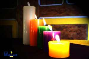 Velas la Gran Luz - Línea Tradicional