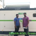 250kVA DG Set KOEL Green