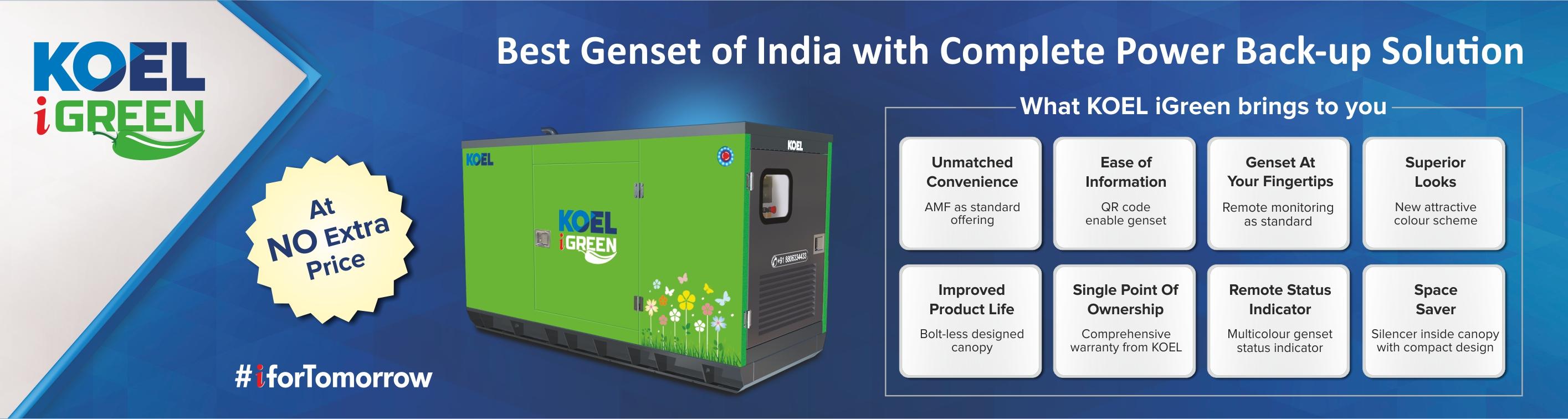 KOEL Generator Dealers in Chennai