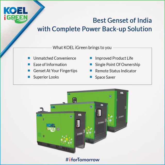 KOEL iGreen generators