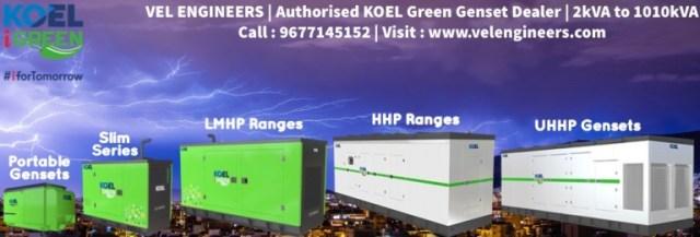 Generator Dealers in T.Nagar