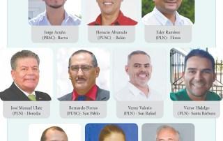 alcaldes provincia de heredia