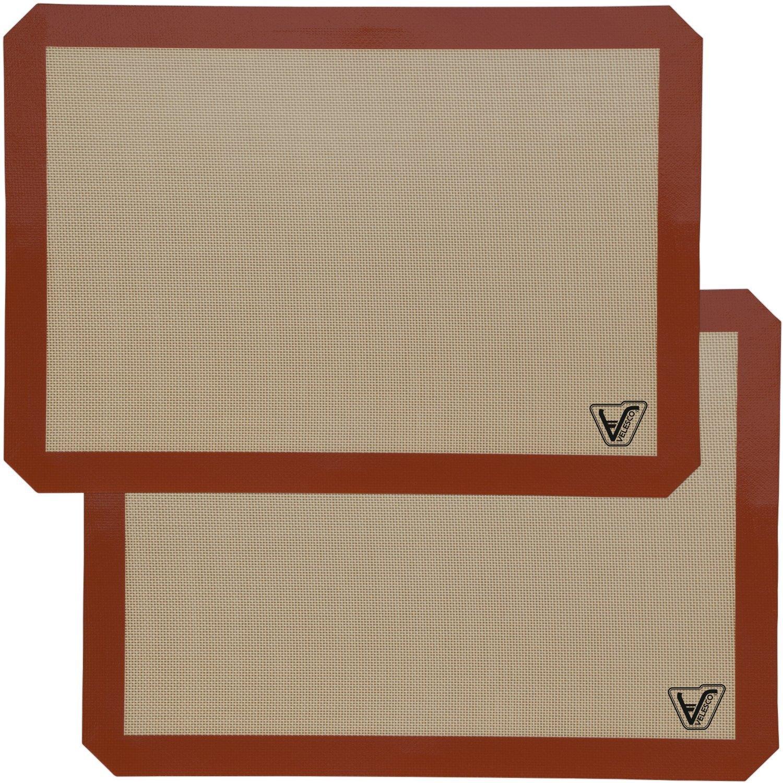 silicone baking mats 2 pack silicone baking sheet buy silicone baking mat velesco. Black Bedroom Furniture Sets. Home Design Ideas