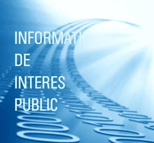 procedura informatii publice