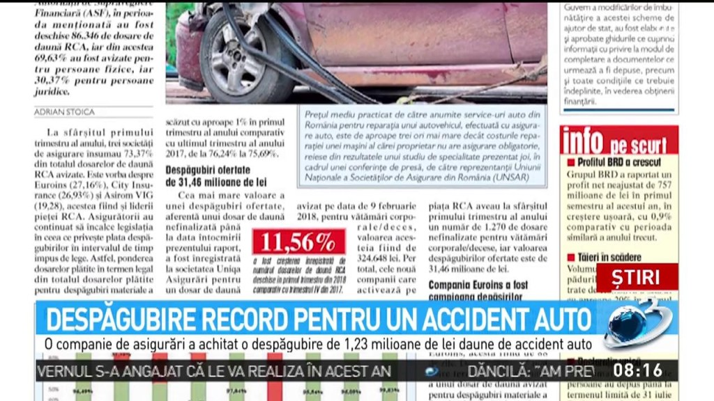 despagubiri accidente rutiere