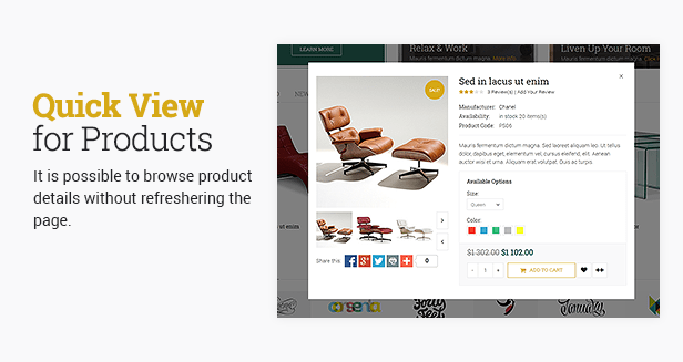 CosyOne - Furniture, Interior, Drugstore, Lingerie, Electronics, Clothing HTML Template