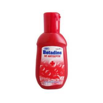 Betadine SC Antiseptik Prodcutnation