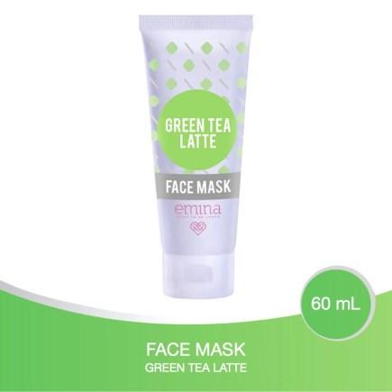 Emina Green Tea Latte Face Mask Shopee